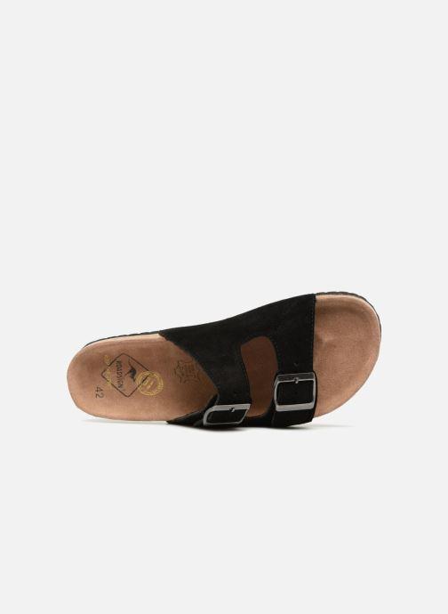 Sandales et nu-pieds Roadsign Tanloo Noir vue gauche