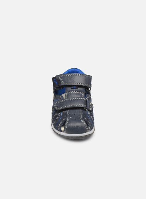 Sandales et nu-pieds Lurchi by Salamander John Bleu vue portées chaussures
