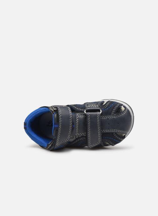 Sandales et nu-pieds Lurchi by Salamander John Bleu vue gauche