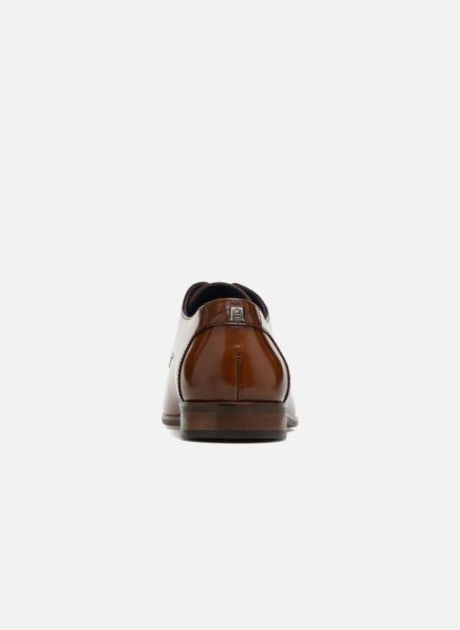 Zapatos con cordones Azzaro Valmi Marrón vista lateral derecha
