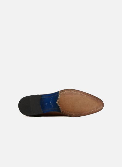 Chaussures à lacets Azzaro Valmi Marron vue haut