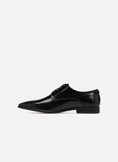 Zapatos con cordones Azzaro Valmi Negro vista de frente