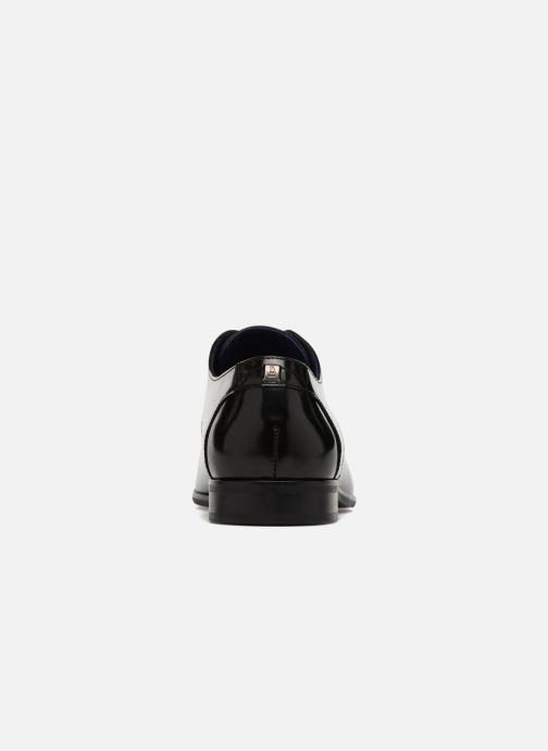 Zapatos con cordones Azzaro Valmi Negro vista lateral derecha