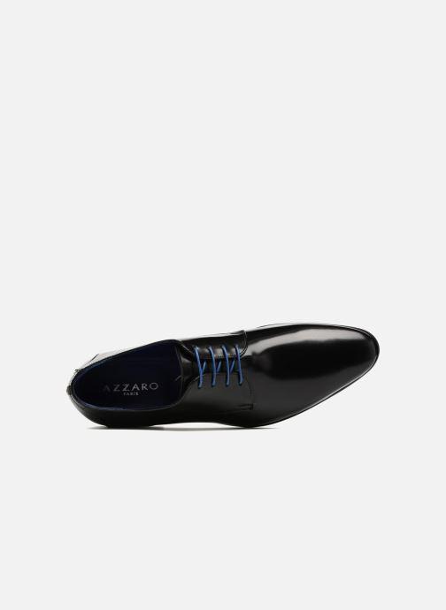 Zapatos con cordones Azzaro Valmi Negro vista lateral izquierda