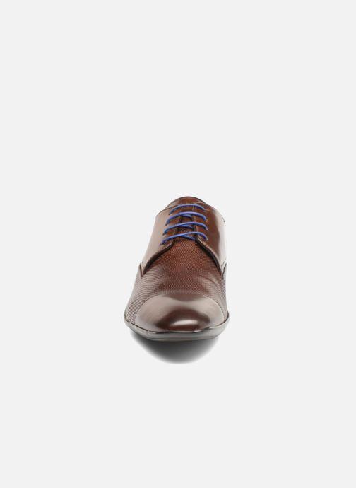 Chaussures à lacets Azzaro Piroman Marron vue portées chaussures