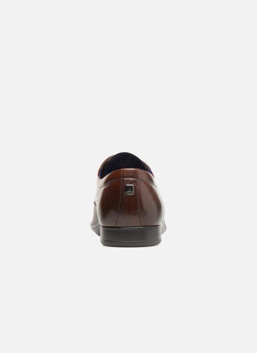 Chaussures à lacets Azzaro Piroman Marron vue droite