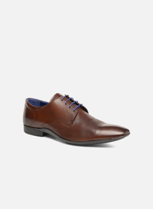 Chaussures à lacets Azzaro Piroman Marron vue détail/paire