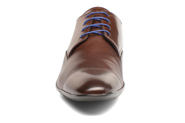 Lace-up shoes Azzaro Piroman Brown model view
