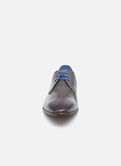 Chaussures à lacets Azzaro Verdol Gris vue portées chaussures