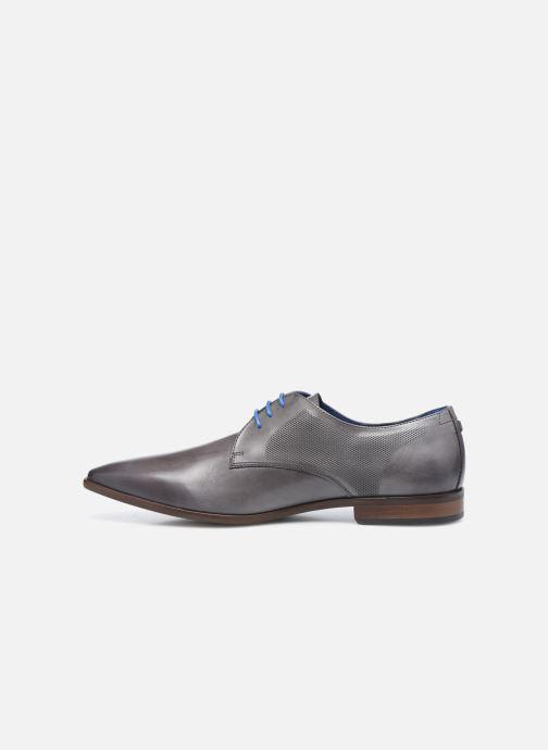 Zapatos con cordones Azzaro Verdol Gris vista de frente