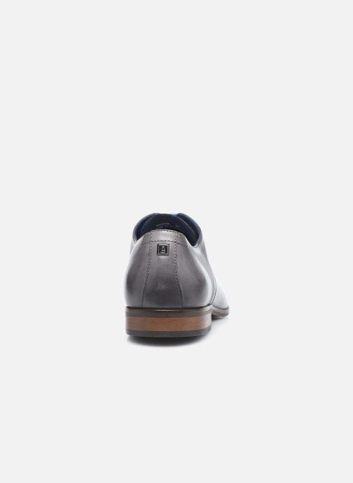 Zapatos con cordones Azzaro Verdol Gris vista lateral derecha