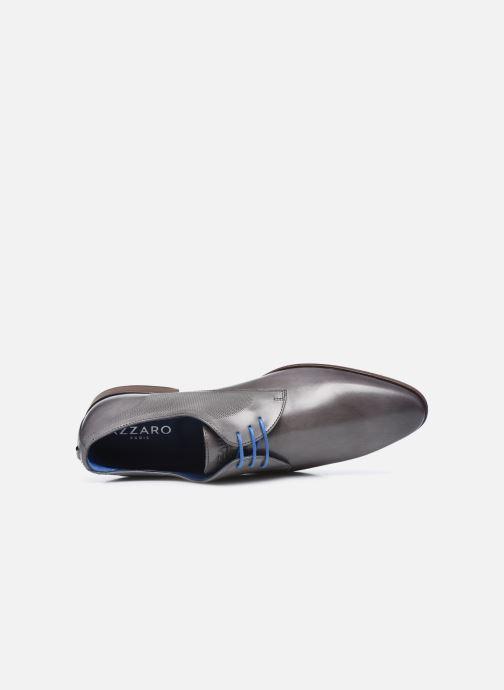 Zapatos con cordones Azzaro Verdol Gris vista lateral izquierda
