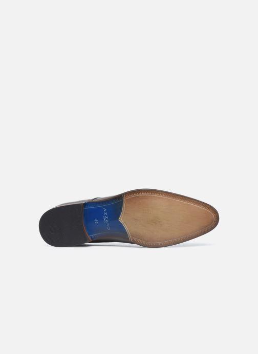 Zapatos con cordones Azzaro Verdol Gris vista de arriba