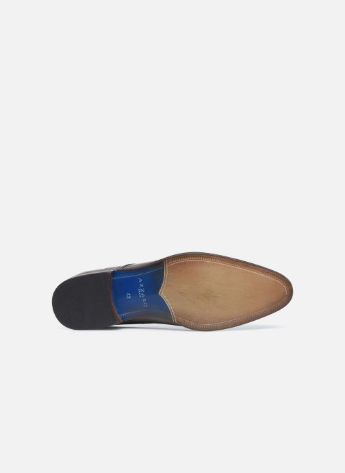 Chaussures à lacets Azzaro Verdol Gris vue haut