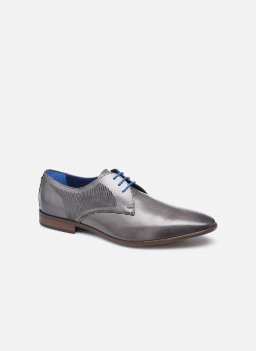 Zapatos con cordones Azzaro Verdol Gris vista de detalle / par