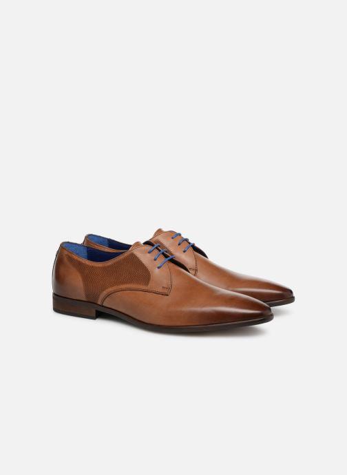 Scarpe con lacci Azzaro Verdol Marrone modello indossato