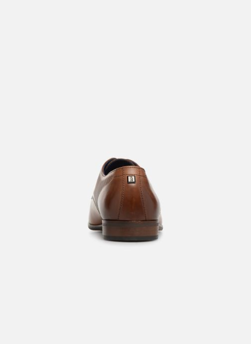 Zapatos con cordones Azzaro Verdol Marrón vista lateral derecha
