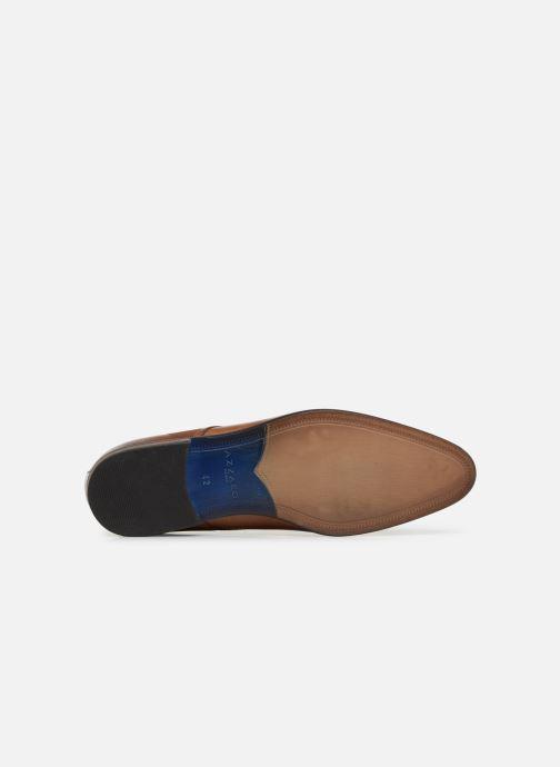 Zapatos con cordones Azzaro Verdol Marrón vista de arriba