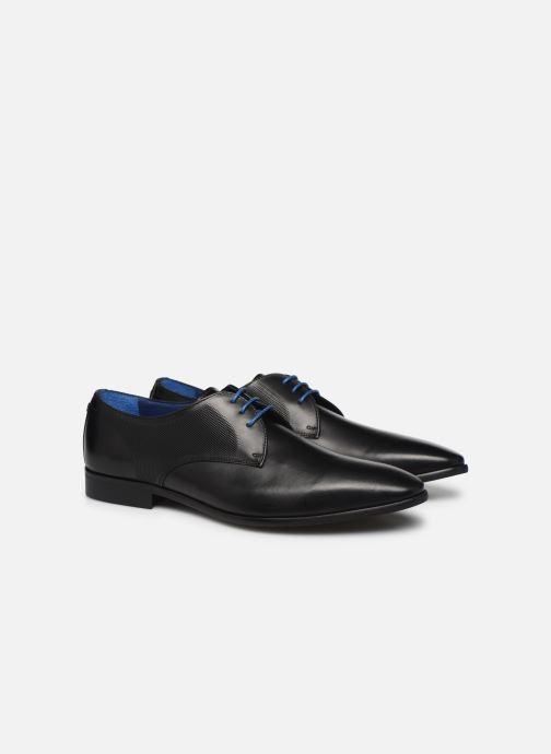 Zapatos con cordones Azzaro Verdol Negro vista 3/4