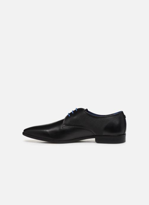 Zapatos con cordones Azzaro Verdol Negro vista de frente