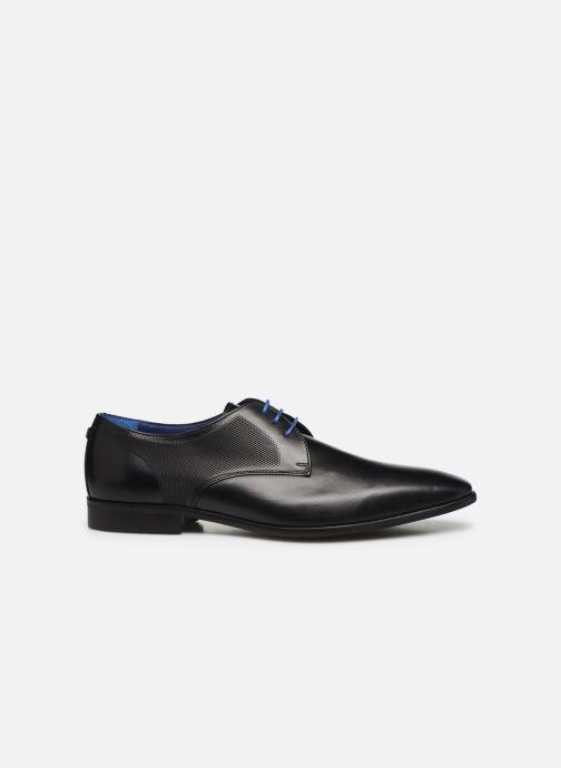Zapatos con cordones Azzaro Verdol Negro vistra trasera