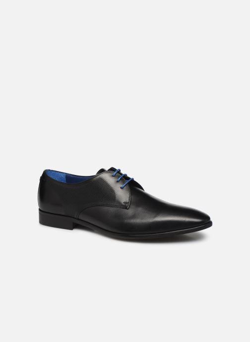 Zapatos con cordones Azzaro Verdol Negro vista de detalle / par