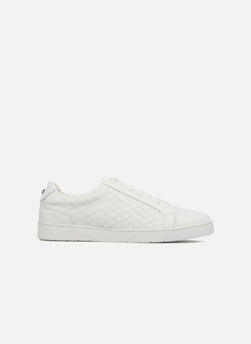 Sneakers Azzaro Caldier Bianco immagine posteriore