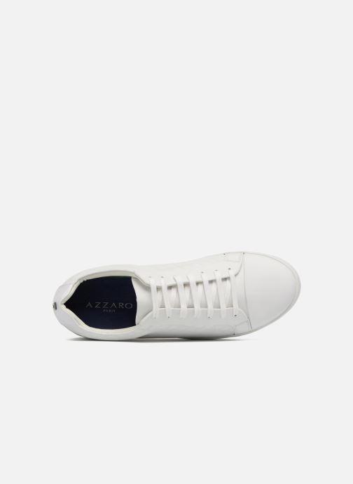 Sneakers Azzaro Caldier Bianco immagine sinistra