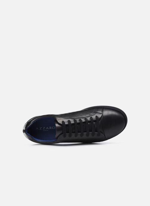 Sneakers Azzaro Caldier Nero immagine sinistra