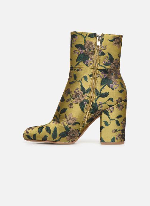Boots en enkellaarsjes Steve Madden Goldie Ankleboot Geel voorkant