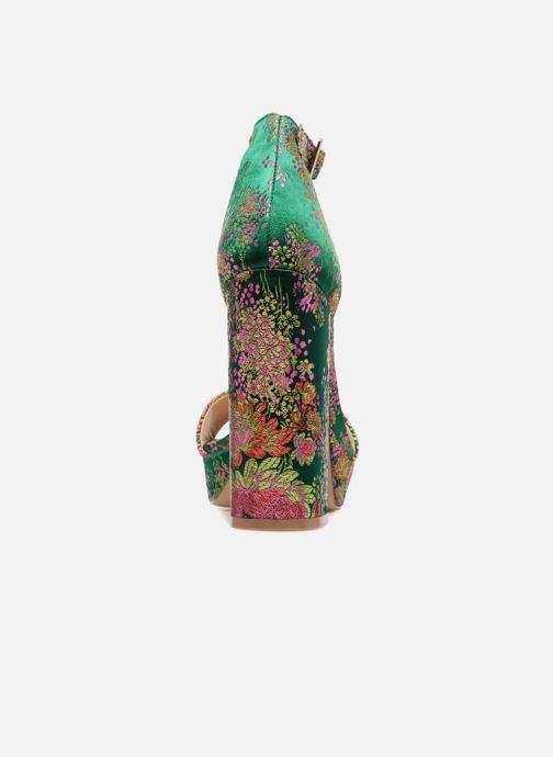 Sandales et nu-pieds Steve Madden Jasmine Sandal Vert vue droite