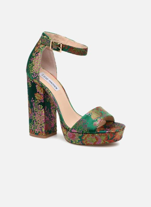Sandals Steve Madden Jasmine Sandal Green detailed view/ Pair view