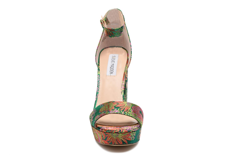Sandales et nu-pieds Steve Madden Jasmine Sandal Vert vue portées chaussures