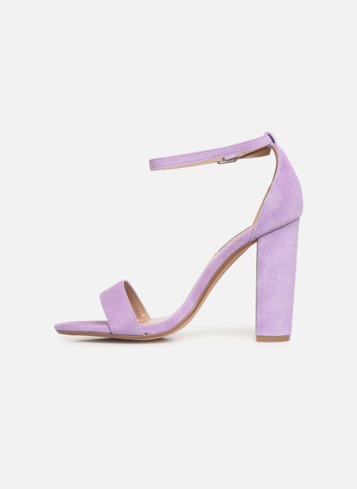 Sandales et nu-pieds Steve Madden Carrson Sandal Violet vue face