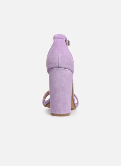 Sandales et nu-pieds Steve Madden Carrson Sandal Violet vue droite