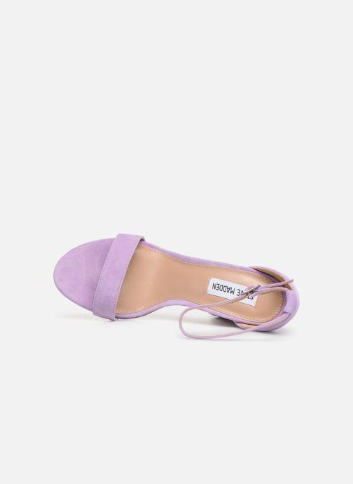 Sandales et nu-pieds Steve Madden Carrson Sandal Violet vue gauche