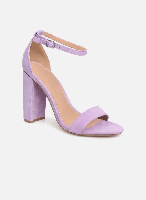 Sandales et nu-pieds Steve Madden Carrson Sandal Violet vue détail/paire