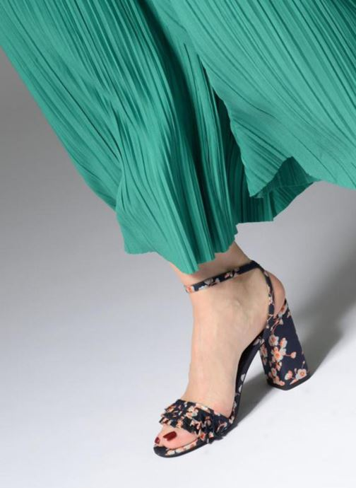 Sandales et nu-pieds Steve Madden Akkrum Sandal Bleu vue bas / vue portée sac
