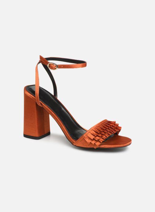 galón Contemporáneo simpático  Steve Madden Akkrum Sandal (Orange) - Sandales et nu-pieds chez Sarenza  (374431)