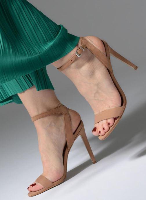 Sandales et nu-pieds Steve Madden Landen High Heel Sandal Marron vue bas / vue portée sac