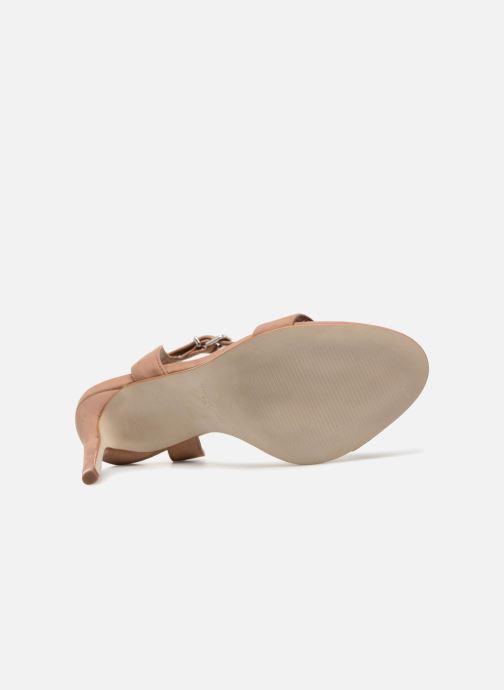 Sandales et nu-pieds Steve Madden Landen High Heel Sandal Marron vue haut