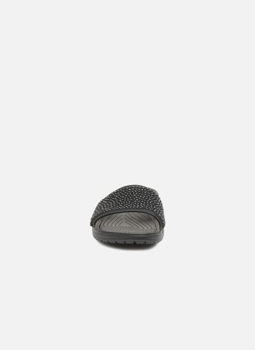 nero 312465 Zoccoli Slide Crocs Embellished Chez Sloane wqYxPat