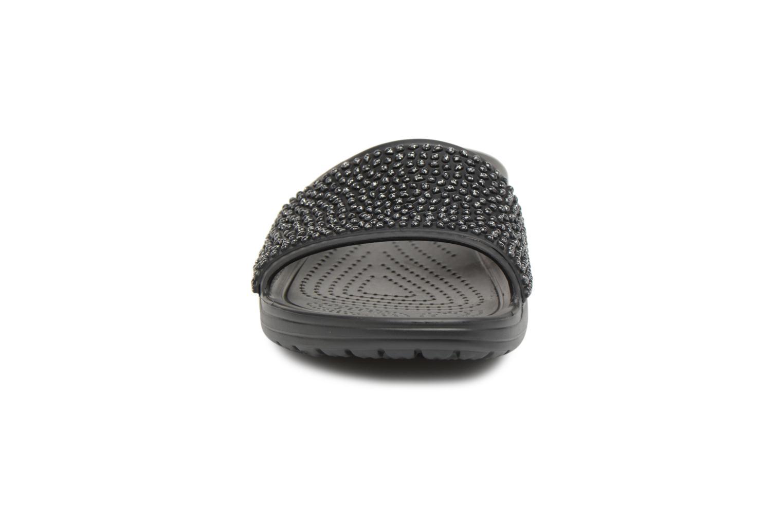 Crocs Black Sloane Embellished black Slide Zwqx0Z8r
