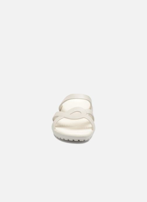 Zoccoli Crocs Meleen Twist Sandal W Bianco modello indossato