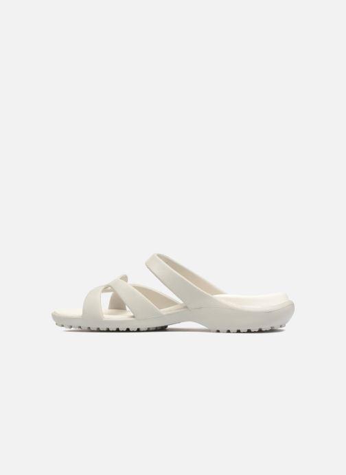 Zoccoli Crocs Meleen Twist Sandal W Bianco immagine frontale