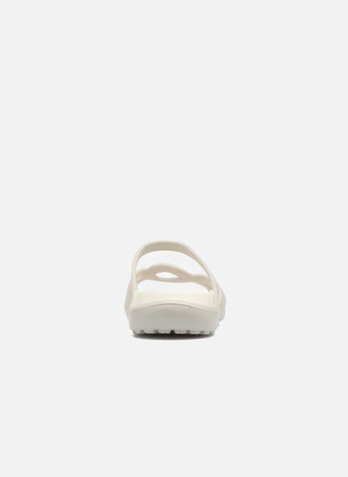 Mules et sabots Crocs Meleen Twist Sandal W Blanc vue droite