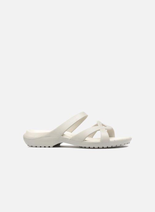 Mules et sabots Crocs Meleen Twist Sandal W Blanc vue derrière