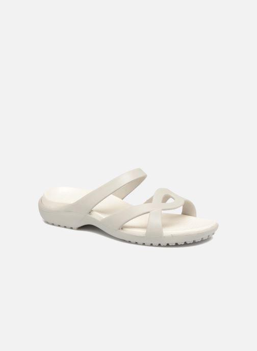 Mules et sabots Crocs Meleen Twist Sandal W Blanc vue détail/paire