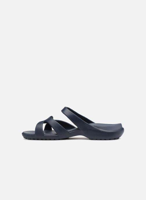 Mules et sabots Crocs Meleen Twist Sandal W Bleu vue face