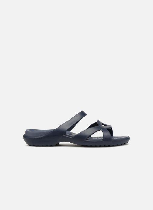 Mules et sabots Crocs Meleen Twist Sandal W Bleu vue derrière